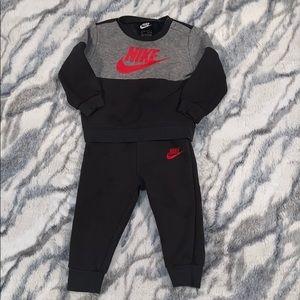Matching Nike Sweatshirt & Sweatpants for Toddler